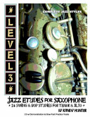 Level Three Jazz Etudes for Saxophone