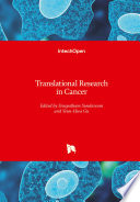 Translational Research in Cancer Book