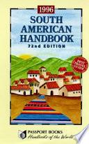 South American Handbook, 1996