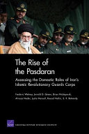 The Rise of the Pasdaran Book