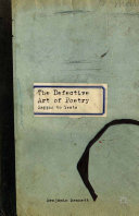 The Defective Art of Poetry Pdf/ePub eBook