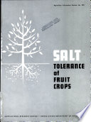 Salt Tolerance of Fruit Crops
