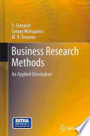 Business Research Methods  : An Applied Orientation