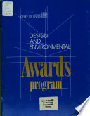 Chief of Engineers Design and Environmental Awards Program