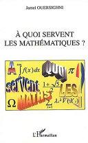 Pdf A quoi servent les mathématiques ? Telecharger