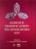 Surface Modification Technologies Xiv Book PDF