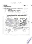IRS Published Product Catalog
