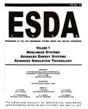 Esda 1996 Nonlinear Systems Advanced Energy Systems Advanced Simulation Technology Book PDF
