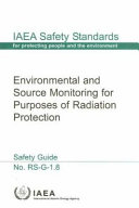 Environmental and Source Monitoring for Purposes of Radiation Protection