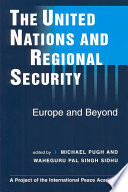 The United Nations & Regional Security