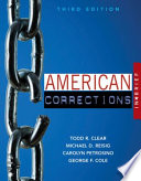 American corrections in brief / Todd R. Clear, Michael D. Reisig, Carolyn Petrosino, George Cole.