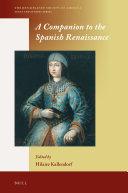A Companion to the Spanish Renaissance