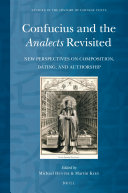 Pdf Confucius and the Analects Revisited