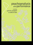 Psychoanalysis and Performance
