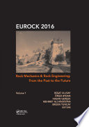 Rock Mechanics and Rock Engineering  From the Past to the Future Book
