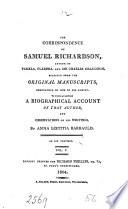 The Correspondence of Samuel Richardson, Author of Pamela, Clarissa, and Sir Charles Grandison Pdf/ePub eBook