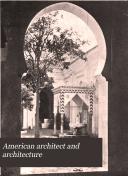 American Architect and Architecture