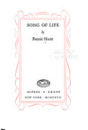 Song of Life Book