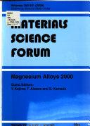 Magnesium Alloys 2000