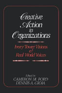 Creative Action In Organizations Book PDF