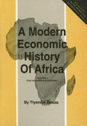 A Modern Economic History of Africa  The nineteenth century