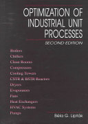 Optimization of Industrial Unit Processes  Second Edition