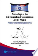 Pushing the Frontiers of Atomic Physics Book