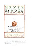 Henry Esmond