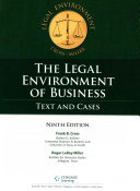 The Legal Environment Of Business PDF