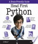 Head First Python Book