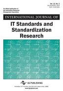 International Journal of IT Standards and Standardization Research  IJITSR