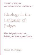 Ideology in the Language of Judges Pdf/ePub eBook