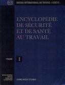 Encyclopédie de sécurité et de santé au travail