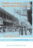 Pdf Citadins et citoyens dans la Chine du XXe siècle Telecharger