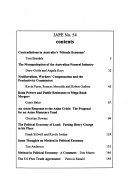 The Journal Of Australian Political Economy