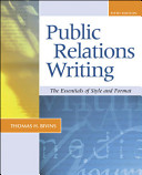 Cover of Public Relations Writing