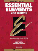 Essential Elements for Strings Book PDF