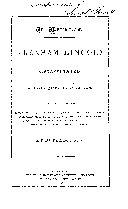 Im Memorian Abraham Lincoln