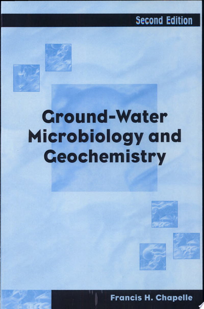 Ground-Water Microbiology and Geochemistry banner backdrop