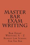 Master Bar Exam Writing