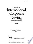 Directory of International Corporate Giving in America