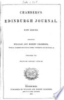 Chambers s Edinburgh Journal Book