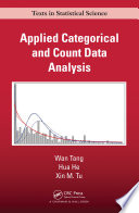 Applied Categorical and Count Data Analysis Book