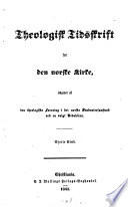 Theologisk tidsskrift for den Norske Kirke