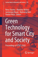 Green Technology for Smart City and Society