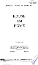 Readers' Guide to Books on House and Home