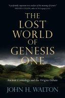 The Lost World of Genesis One Pdf/ePub eBook