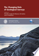 The Changing Role of Geological Surveys Book