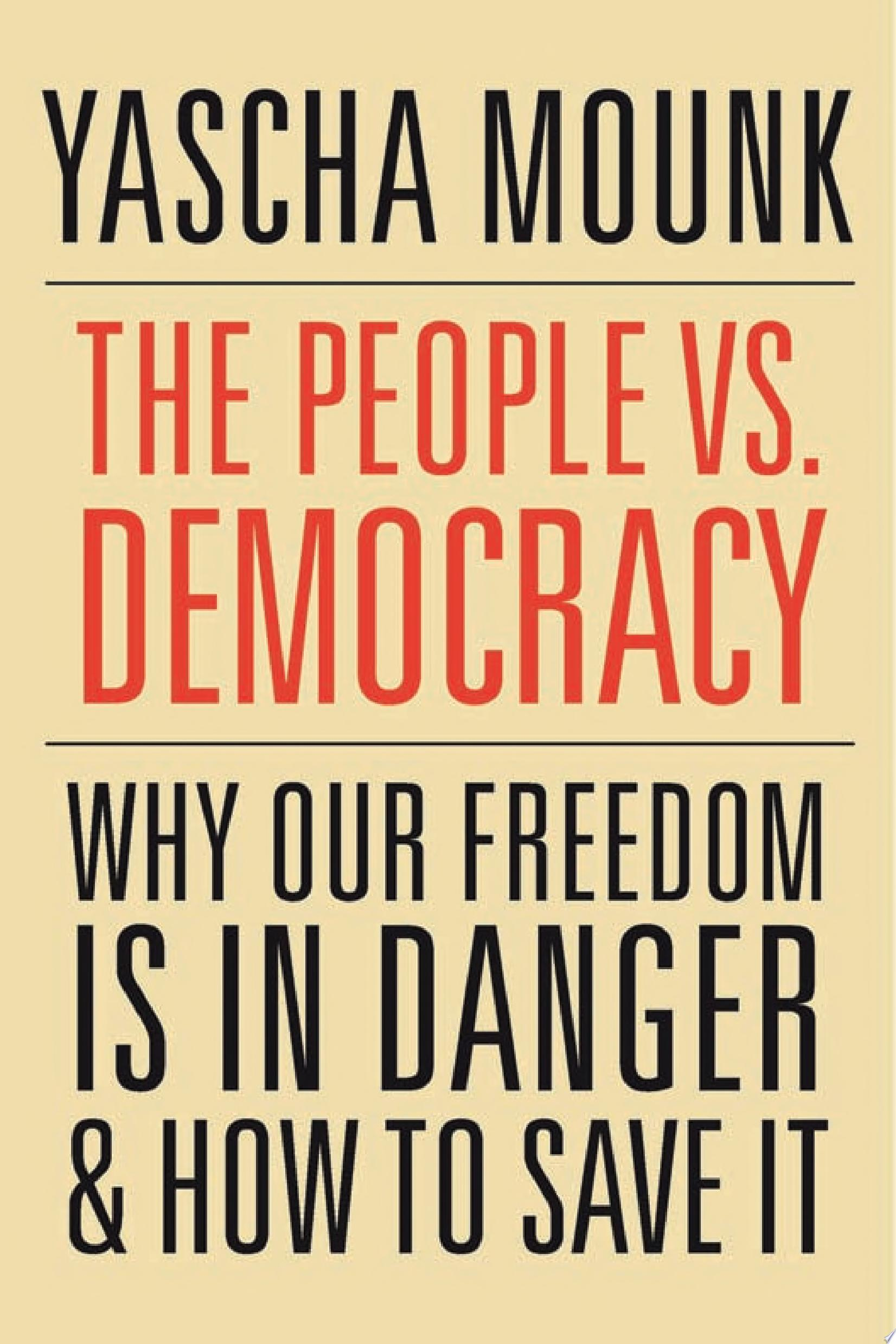 The People Vs  Democracy