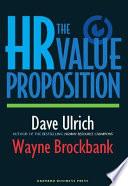 The Hr Value Proposition Book PDF